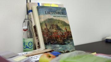Edith Hunziker und Susanne Ritter-Lutz arbeiten am Band «Laufenburg» der Reihe «Kunstdenkmäler der Schweiz». Er erscheint im Herbst 2019. | © Roger Wehrli