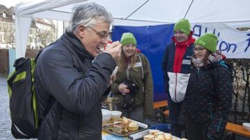 Der Erlös aus dem Suppenverkauf kommt sozialen Projekten zugute. | © Roger Wehrli