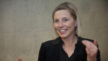 Susanne Marclay-Merz hatte an der Podiumsdiskussion als Politikerin, Juristin, Richterin und Mutter verschiedene Hüte auf.   © Roger Wehrli