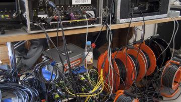 Mehr als 400 Arbeitsstunden investieren die SRF-Mitarbeitenden in die Produktion der einstündigen Live-Übertragung. | © Roger Wehrli