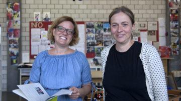 Das Mentoring-Programm soll zu einem Austausch zwischen den Flüchtlingen im Kanton und der Zivilgesellschaft beitragen, erklärt Susanne Klaus, die das Projekt zusammen mit Gabi Gratwohl auf die Beine stellte. | © Roger Wehrli