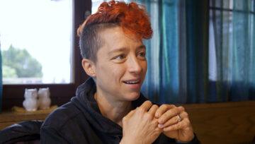 Corinne Dobler, ökumenische Gastroseelsorgerin im Aargau.   © Roger Wehrli