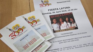 Fiesta Latina im Rampart, Raclette, Bratwurst, Comic-Zeichnen mit Rainer Benz und ein Bettmümpfeli für Kinder und Familien - das Programm bietet Leckerbissen für Gross und Klein. | © Roger Wehrli