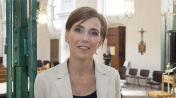 Die reformierte Theologin Christine Stark ist als Produzentin für die Live-Übertragungen der Gottesdienste mitverantwortlich. | © Roger Wehrli