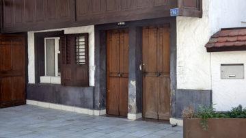 Juden und Christen lebten im Surbtal mehr als 200 Jahre eng beieinander. Unter dem gleichen Dach, aber mit zwei verschiedenen Eingängen. | © Roger Wehrli