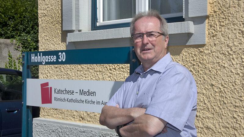 Joachim Köhn, Leiter Fachstelle Katechese-Medien der Römisch-Katholischen Kirche im Aargau. | © Roger Wehrli