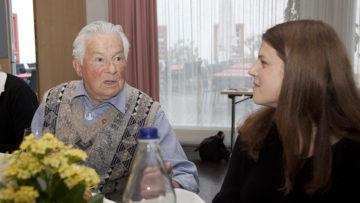 Die Ehemaligen sind zwischen 60 und über 90 Jahren alt. Leider fehlt der Nachwuchs. Dabei wäre der Austausch zwischen den Generationen durchaus spannend. | © Roger Wehrli