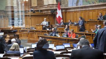 Nach erbitterter Diskussion im Bundesparlament und einer Einigungskonferenz zimmerten die beiden Kammern bei der Reform der Altersvorsorge eine Kompromisslösung. | © Roger Wehrli
