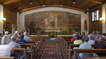 Wenn Sie vom Krieg verschont würden, so gelobten die Etzger zur Zeit des Zweiten Weltkrieges, würden Sie Bruder Klaus zu Ehren eine Kapelle errichten. | © Roger Wehrli