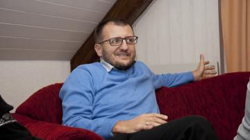M. Mujala, Präsident der Islamischen Gemeinschaft der Bosniaken des Kantons Aargau (IGBA): «Wir können nur immer wieder zeigen, was der Islam ist und so Vertrauen schaffen.» | © Roger Wehrli
