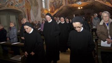 Die Benediktinerinnen im Kloster Fahr beten jeden Donnerstag für Veränderung in der Kirche. Unaufgeregt, aber entschlossen und mit klaren Worten. | © Roger Wehrli