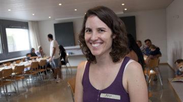 Ana Laguna arbeitet seit zwei Jahren im Teilzeitpensum für den Verein JASS. | © Roger Wehrli