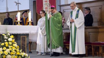 Bischof Felix und Pastoralraumleiter Kurt Grüter (rechts). | © Roger Wehrli
