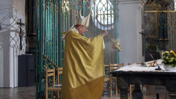 Jeweils am 1. September feiert Bad Zurzach den Gedenktag der heiligen Verena. Dieses Jahr fiel dieser auf einen Sonntag, was die Live-Übertragung des Festgottesdienstes möglich machte. | © Roger Wehrli