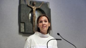 Pastoralassistentin Lara Tedesco ist in allen drei Pfarreien des Pastoralraums Siggenthal tätig. | © Roger Wehrli
