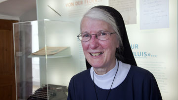 Hat sich den Namen Silja anlässlich ihres Eintritts in den Franziskanerorden selbst gegeben: Silja Richli. | © Roger Wehrli