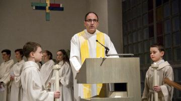 Alexander Pasalidi amtet noch bis im kommenden Juni als Leitender Priester im Pastoralraum Möhlinbach. | © Roger Wehrli