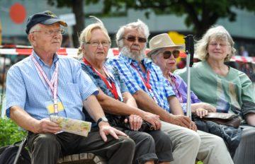 Die zunehemnde Überalterung in der Schweiz schlägt bis in die Pensionskassen durch: Das Durchschnittsalter der Versicherten bei der Pensionskasse der Römisch-Katholischen Landeskirche beispielsweise liegt bei 49,7 Jahren. | © kna-bild
