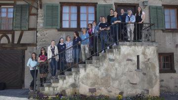 Die Siljas posieren fürs Gruppenbild. | © Roger Wehrli