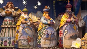 In bestimmten Ländern findet man in den Krippen die drei Könige ausschliesslich mit weisser Hautfarbe. Wer dahingehend einen rassistischen Hintergrund vermutet, liegt nicht ganz falsch. | © Roger Wehrli