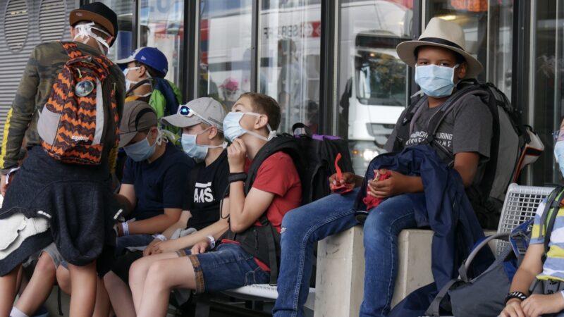 Die mehrstündige Reise von Birmenstorf ins Unterengadin mit Hygienemasken war für die Jubla-Schar Birmenstorf die grösste Herausforderung in Sachen Corona-Massnahmen. | © zvg