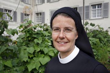 Seit 1986 im Kloster Fahr und seit 2003 Prorin: Irene Gassmann stand über Jahrzehnte in engem Kontakt mit Silja Walter, die als Schwester Hedwig bis zu ihrem Tode 2011 im Kloster Fahr lebte. | © Roger Wehrli