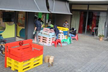Die Jugendarbeit Suhr Buchs wurde bei ihrem Projekt vom lokalen Gewerbe kräftig unterstützt. | © zvg
