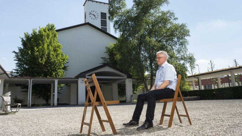 Burghard Förster ist Diakon und Pfarreileiter in Peter und Paul Aarau. | © Werner Rolli