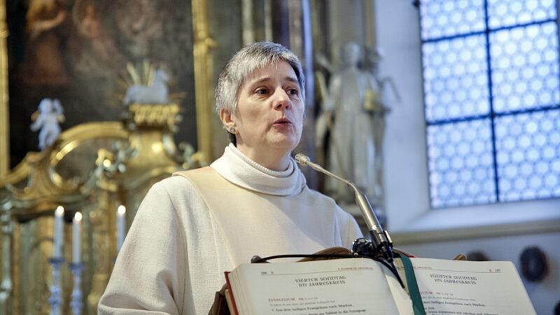 Barbara Metzner ist eine von elf Frauen, die an der Zoom-Konferenz vom 17. Mai, dem Gedenktag der Junia, mitwirkte | © Roger Wehrli