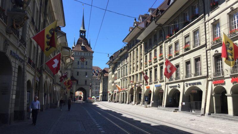 Die Klimademonstration in Bern wird mit einem spirituellen Schwerpunkt beginnen. Um 12.30 Uhr findet in der Heiliggeistkirche ein interreligiöses Klimagebet statt. | © Andreas Krummenacher