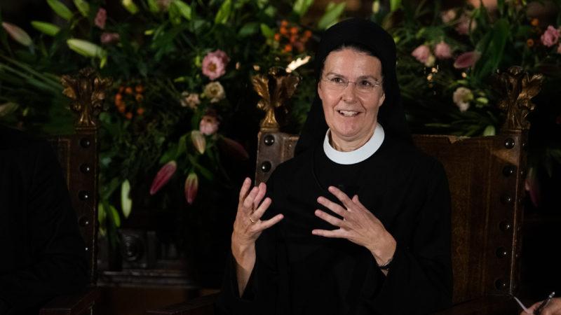 Priorin Irene Gassmann vom Kloster Fahr, eine der Mitinitiantinnen der Initiative. | zvg