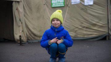 Eine  Folge des Konflikts mit Russland sind die vielen Binnenflüchtlinge.  Es sind jene Menschen, die aus der Ostukraine geflüchtet sind. | © Caritas