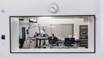 Blick in ein Studio. | © Werner Rolli