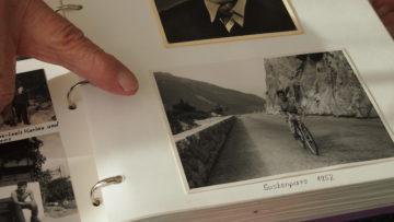 Albert Würthrich, zu Jugendzeiten ein angefressener «Gümmeler», fährt auch mit über 90 Jahren noch Rad - regelmässig auch in Begleitung einer Caritas Care-Mitarbeiterin. | © Andreas C. Müller