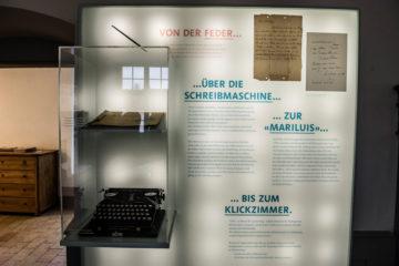 Noch im Alter von 90 Jahren schaffte Silja Walter den Schritt von der Schreibmaschine zum Computer. | © Vera Rüttimann