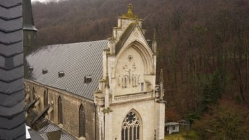 Die Klosterkirche von Pforta - von der Sternwarte aus gesehen. | © Vera Rüttimann
