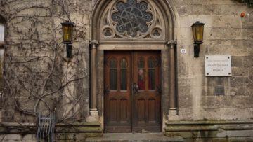 Das Hauptportal der Landesschule Pforta - bis 1542 eine Klosteranlage der Zisterzienser. | © Vera Rüttimann