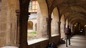 Der Kreuzgang in Pforta gehört zu den Attraktionen des ehemaligen Klosters, das bereits im 16. Jahrhundert in ein Internat umgewandelt wurde. | © Vera Rüttimann