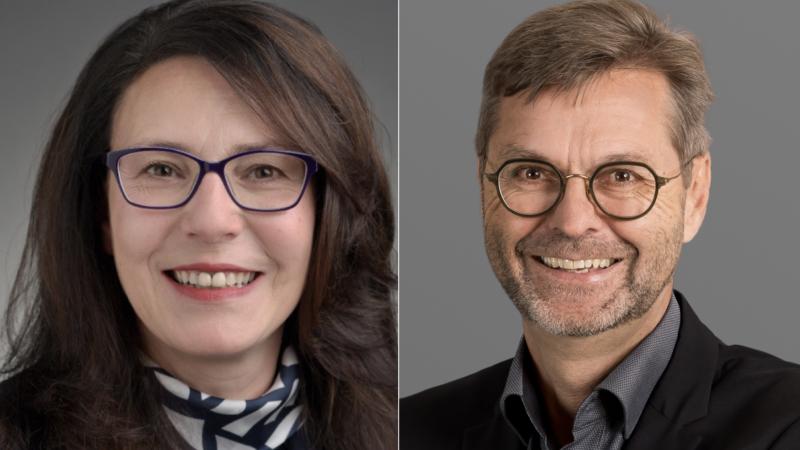 Donata Tassone und Andreas Brun übernehmen ab dem 1. Juli 2020 die Personalverantwortung im Bistum Basel  | © Bistum Basel
