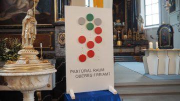 Noch unvollständig: das neue Logo des Pastoralraums Oberes Freiamt. | © Anne Burgmer