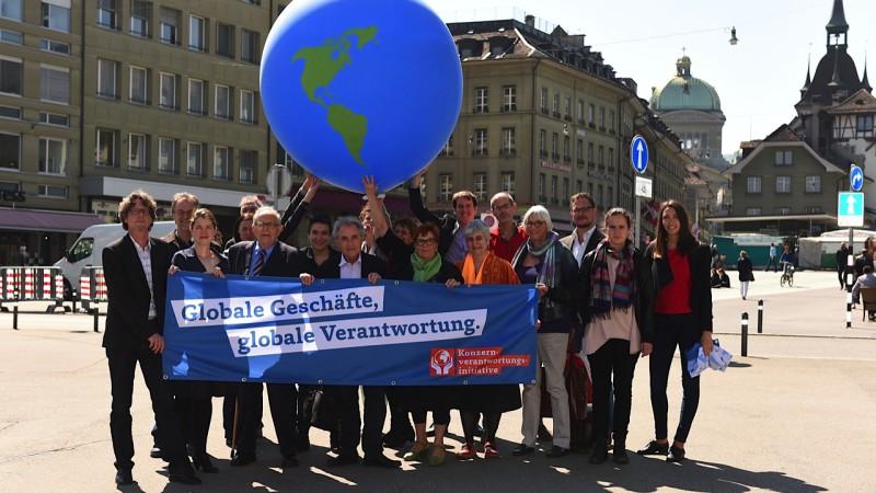 Initianten in Bern