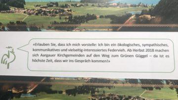 So beginnt das Infoschreiben an die Kirchgemeinden im Aargau. | © Marie-Christine Andres
