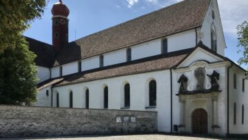 Wie Perlen an einer Schnur sind die spirituellen Schätze entlang des Kolumbanswegs aufgereiht. Auf der Etappe von Baden nach Zürich liegt das Kloster Wettingen, gegründet im Jahr 1227. | © Marie-Christine Andres