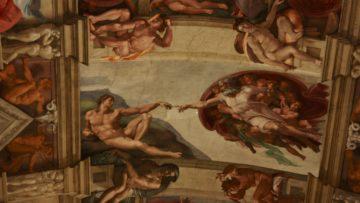 Die Jugendlichen und jungen Erwachsenen brauchen die Weisheit der Älteren. «Die Erschaffung Adams» von Michelangelo aus dem Deckenfresko der Sixtinischen Kapelle im Vatikan. | © Marie-Christine Andres