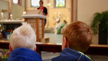 Der Erfolg einer Familienpastoral misst sich nicht primär an der Anzahl Kinder im Gottesdienst. Doch die, die da sind, sollen sich willkommen fühlen. | © Marie-Christine Andres