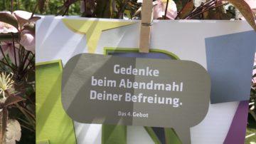 Von den Bestellzahlen der Broschüren zu schliessen, sind die Zehn Gebote in Zürich an der Basis angekommen. Im Aargau sind sie erst in vereinzelten Kirchgemeinden bekannt. | © Marie-Christine Andres