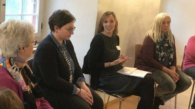 Die Aargauer Pastoralkonferenz traf sich am Mittwoch, 20. November, in der Propstei Wislikofen, um über das Thema «Kirche und Digitalisierung» zu diskutieren.   © Marie-Christine Andres
