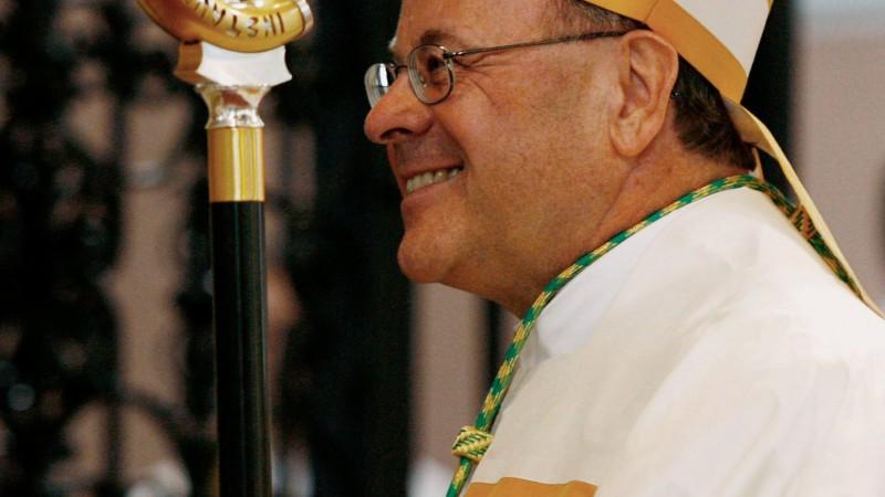 Vitus Huonder am Tag seiner Bischofsweihe im September 2007. | © KNA Bild