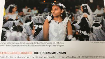 Auch die katholische Kirche kennt Übergangsriten für Kinder. Zum Beispiel die Erstkommunion. | © Marie-Christine Andres