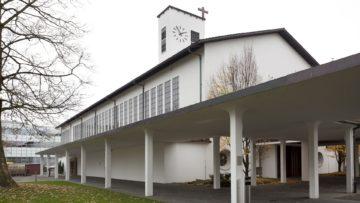 Katholische Kirche Aarau, hier findet am Valentinstag die Segesfeier für Liebende statt | © Roger Wehrli